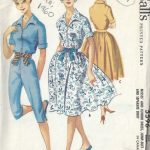 1960-Vintage-Sewing-Pattern-B33-SKIRT-DRESS-JUMPSUIT-1801R-262909881586