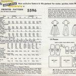 1960-Vintage-Sewing-Pattern-B33-SKIRT-DRESS-JUMPSUIT-1801R-262909881586-2