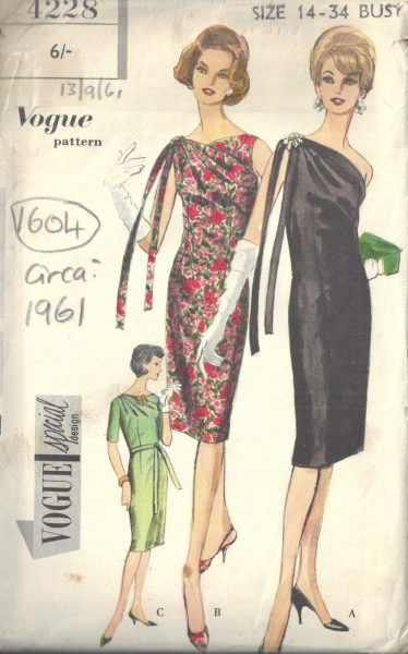 b0891bef8b5 Vintage Sewing Patterns for Sale from a range of eras worldwide