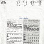 1989-Vintage-VOGUE-Sewing-Pattern-DRESS-B34-36-38-1699-By-Tom-Linda-Platt-262557532416-2