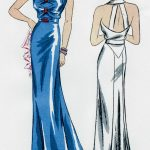 1939-Vintage-Sewing-Pattern-B34-EVENING-DRESS-R957-261203688417-2