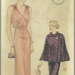 1939-Vintage-Sewing-Pattern-B36-EVENING-DRESS-CAPE-R958-261204166317