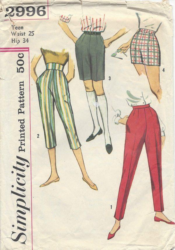 eb35147f 1950s Vintage Sewing Pattern B34