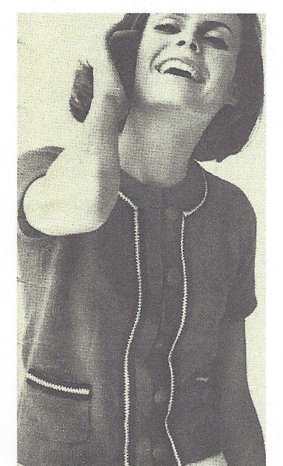 1964 Vintage Knitting Pattern V58 By Vogue The Vintage Pattern Shop