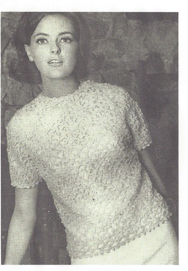1965 Vintage Crochet Pattern V24 By Vogue The Vintage Pattern Shop