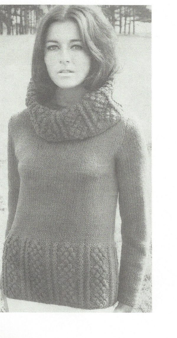 1965 Vintage Knitting Pattern V18 By Vogue The Vintage Pattern Shop