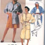 1985-Vintage-VOGUE-Sewing-Pattern-B36-TOP-SHIRT-PANTS-SHORTS-DRESS-1714-KASPER-262559808377