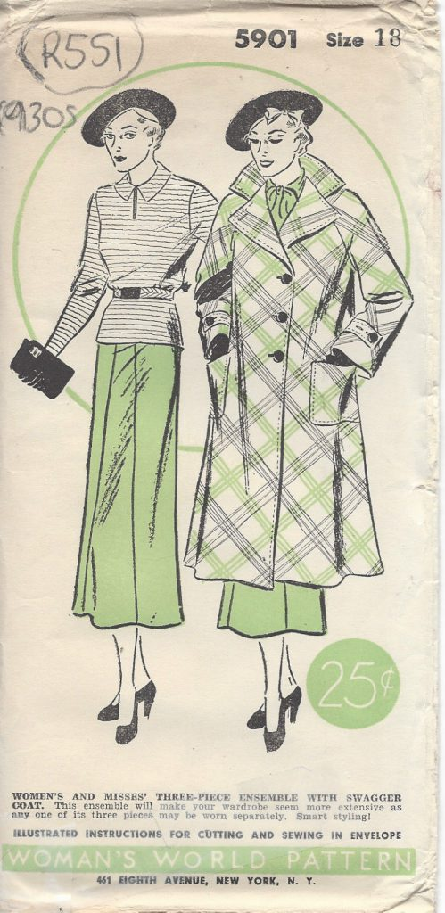 1930s Vintage Trousers and Skirts Sewing Patterns for sale