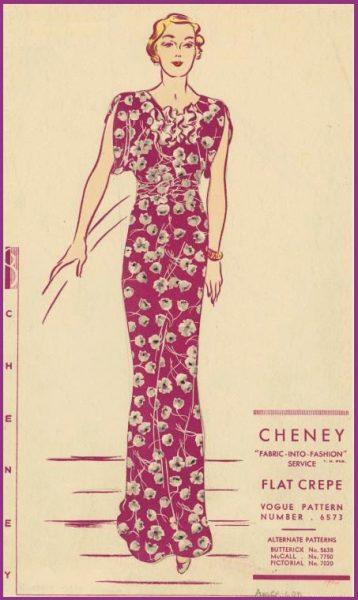 Vintage Vogue Designer Sewing Patterns Available Online