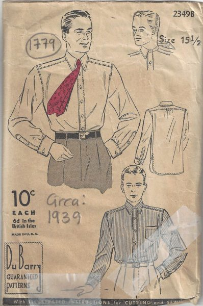 ec1897aaf9 Men's Vintage Sewing Patterns Reproduction from all Eras