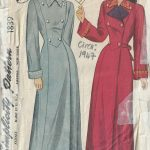 1947-Vintage-Sewing-Pattern-B36-HOUSE-COAT-1818R-262945143308