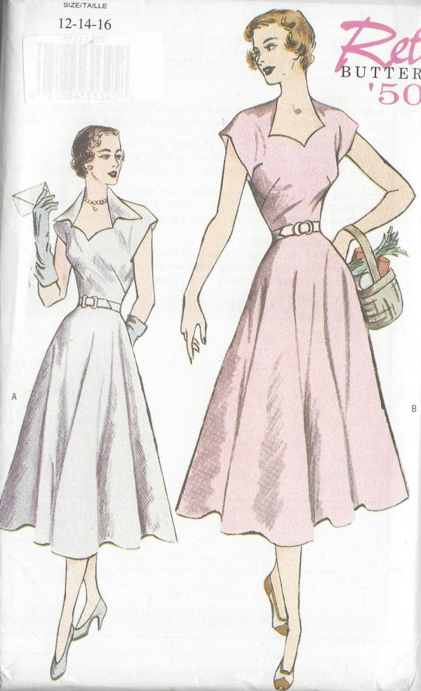 1950-Vintage-Sewing-Pattern-B34-36-38-DRESS-R818-251216062458