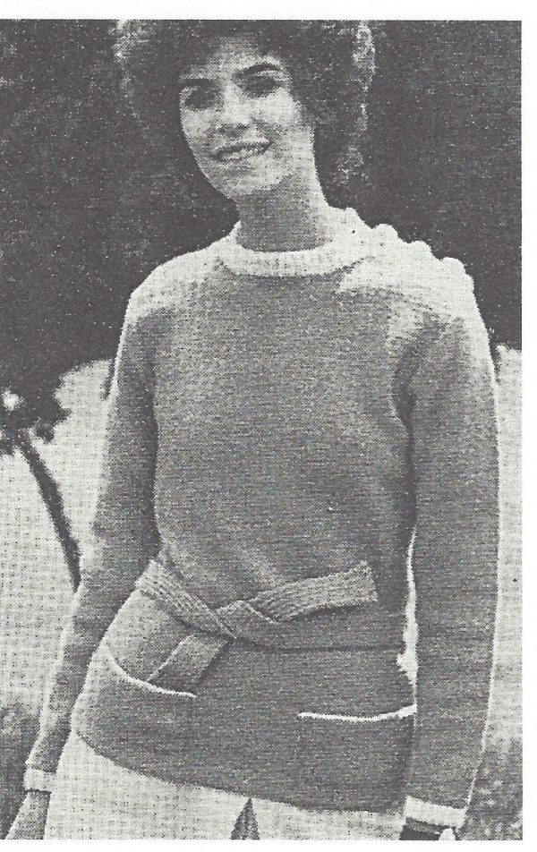 1968 Vintage Knitting Pattern V5 By Vogue The Vintage Pattern Shop