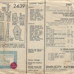 1930s-Vintage-Sewing-Pattern-B34-DRESS-1439-261941886689-2