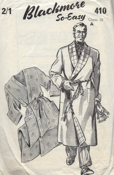 MEN'S VINTAGE SEWING PATTERNS