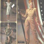 1940s-WW2-Vintage-Sewing-Pattern-SKIRT-TOP-PANTS-HAT-B36-38-40-42-1660-252400882169