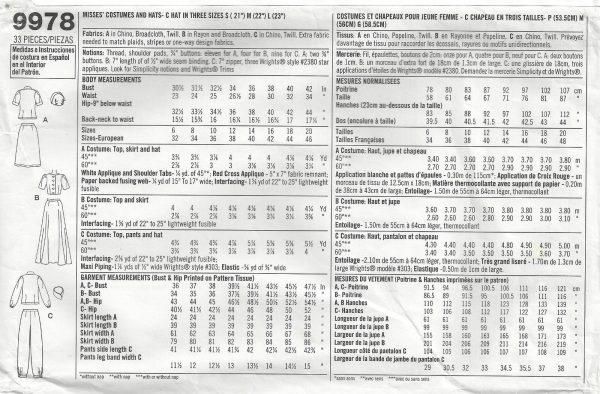 1940s-WW2-Vintage-Sewing-Pattern-SKIRT-TOP-PANTS-HAT-B36-38-40-42-1660-252400882169-2