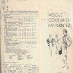 1950-Vintage-VOGUE-Sewing-Pattern-B40-SUIT-DRESS-SKIRT-JACKET-SCARF-1400RR-252701330609-2