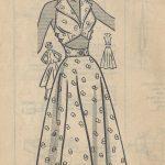 1950s-Vintage-Sewing-Pattern-B30-SKIRT-TOP-SUNDRESS-R997-Mariane-Martin-261219603649