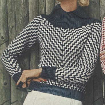 1950s Knitting Patterns Supplied By The Vintage Pattern Shop