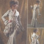 Vintage-Sewing-Pattern-B34-to-42-JACKET-BUSTLE-CAPELET-SKIRT-PANTS-R991-251278951939